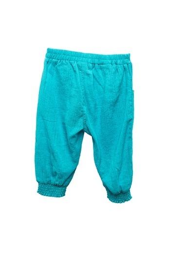 Zeyland Yeşil Nakışlı Müslin Pantolon (6ay-4yaş) Yeşil Nakışlı Müslin Pantolon (6ay-4yaş) Turkuaz
